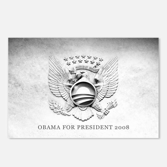 Obama 2008 Blank Postcards (Package of 8)