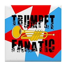 Trumpet Fanatic Tile Coaster