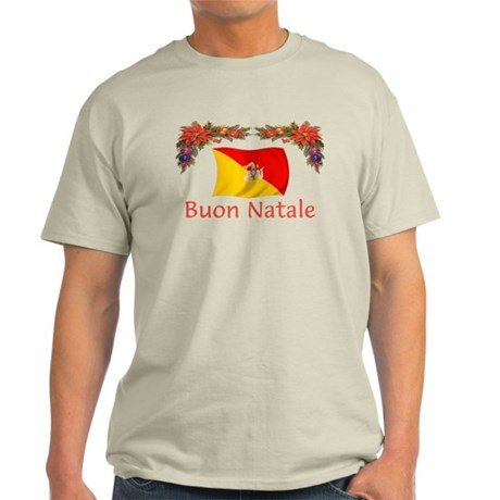 Sicily Buon Natale Light T-Shirt