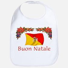 Sicily Buon Natale Bib