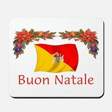 Sicily Buon Natale Mousepad