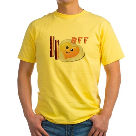 Bacon And Eggs Yellow T-Shirt