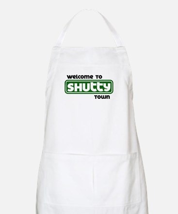 Welcome to Shutty Town BBQ Apron