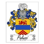 Paluzzi Family Crest Small Poster