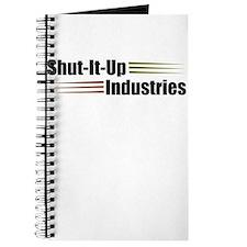 Shut It Up Industries Journal