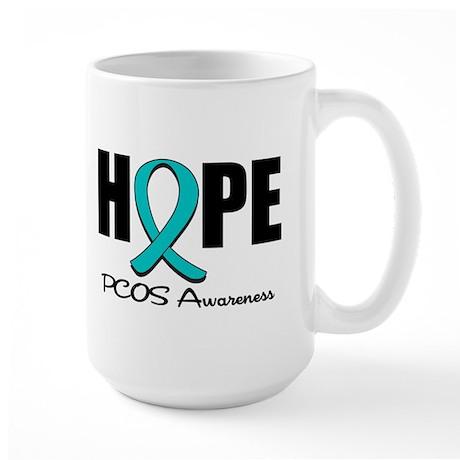 Hope PCOS Awareness Large Mug