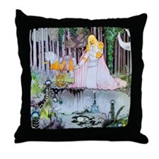 Image in the Water Throw Pillow