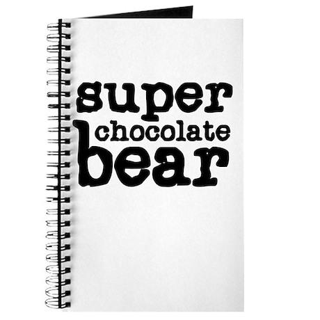 Super Chocolate Bear Journal