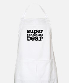 Super Chocolate Bear BBQ Apron