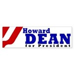 Howard Dean (Bumper Sticker)