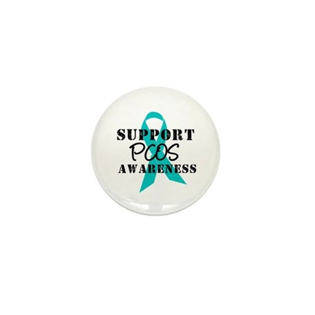 Support PCOS Awareness Mini Button (10 pack)