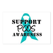 Support PCOS Awareness Postcards (Package of 8)