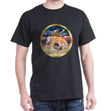 XmasStar/Pekingese #10 T-Shirt