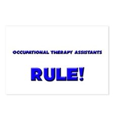 Occupational Therapy Assistants Rule! Postcards (P
