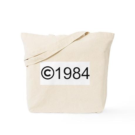Copyright 1984 Tote Bag