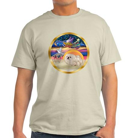 XmasStar/Pekingese (w) Light T-Shirt