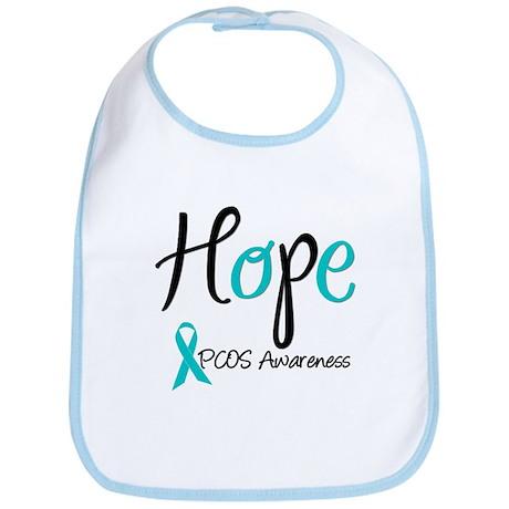 PCOS Awareness Bib
