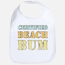 Certified Beach Bum Bib