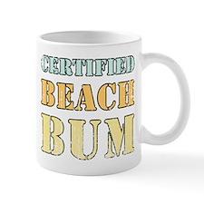 Certified Beach Bum Mug