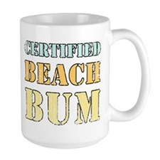Certified Beach Bum Mug