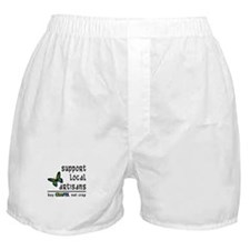 Buy Crafts, Not Crap! Boxer Shorts