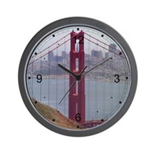 North Tower Frame Wall Clock