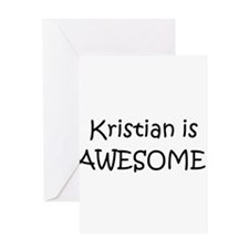 Kristian Greeting Card