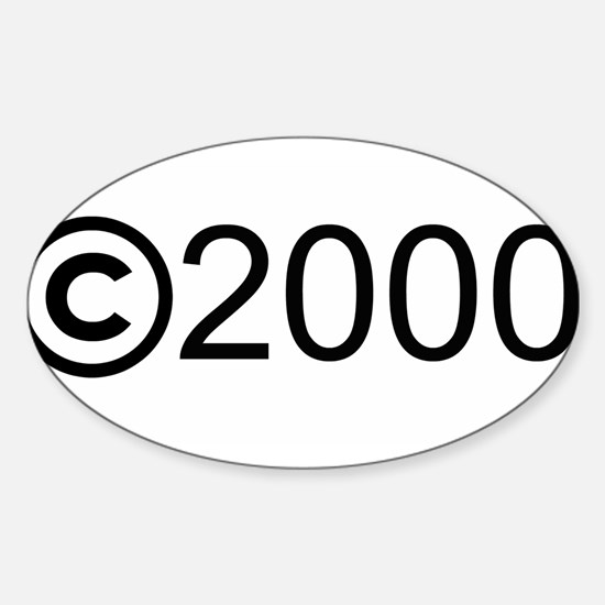 Copyright 2000 Oval Decal