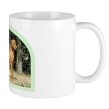 vizsla hunting dog Small Mug