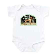 vizsla hunting dog Infant Bodysuit