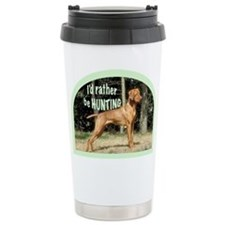 vizsla hunting dog Travel Mug
