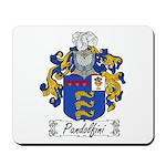 Pandolfini Family Crest Mousepad