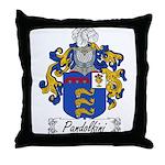 Pandolfini Family Crest Throw Pillow