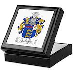 Pandolfini Family Crest Keepsake Box