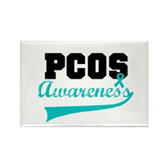 PCOS Awareness Rectangle Magnet (10 pack)