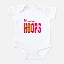 Womens Hoops Infant Bodysuit