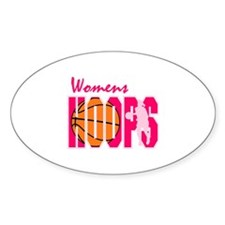 Womens Hoops Oval Decal