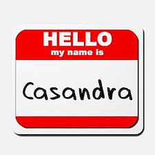 Hello my name is Casandra Mousepad