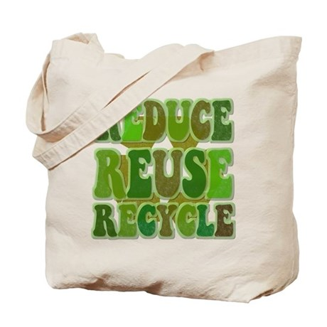 Recycle the plastic bags. Many thrift stores will re-use plastic bags for their merchandise. Some department stores and grocery stores will also often have a location where you can drop off clean and dry your plastic bags to be recycled. Re-use the plastic bags yourself.