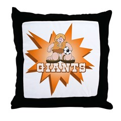 Giants Boy Throw Pillow
