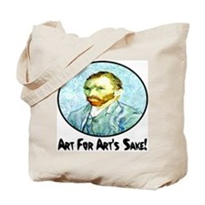 Van Gogh Art For Art's Sake Tote Bag