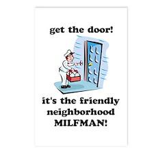 """""""Neighborhood Milfman"""" Postcards (Package of 8)"""