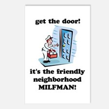 """Neighborhood Milfman"" Postcards (Package of 8)"