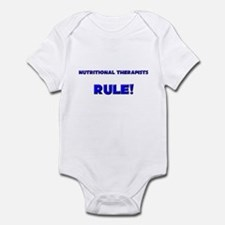 Nutritional Therapists Rule! Infant Bodysuit