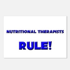 Nutritional Therapists Rule! Postcards (Package of