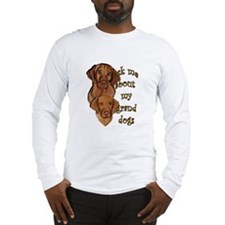 Vizsla Granddogs Long Sleeve T-Shirt