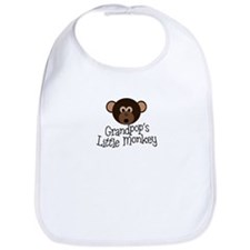Grandpop's Little Monkey Boy Bib