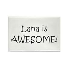 Cute Lana Rectangle Magnet