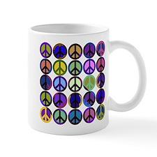 Mod Vintage Peace Mug