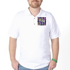 Mod Vintage Peace Golf Shirt